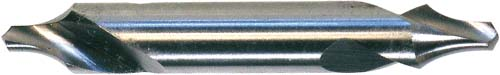 ATORN centre drill with radius, HSS form R, 0.8 mm x 3.15 mm x 25 mm