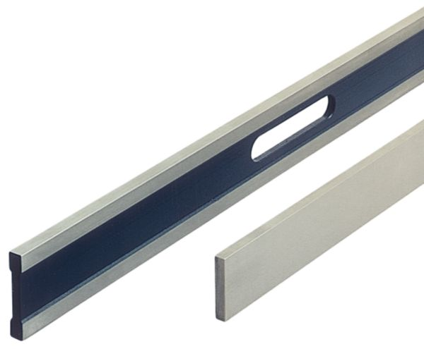 Steel ruler DIN 874-1 prec. 0 1500 mm stainless with test protocol