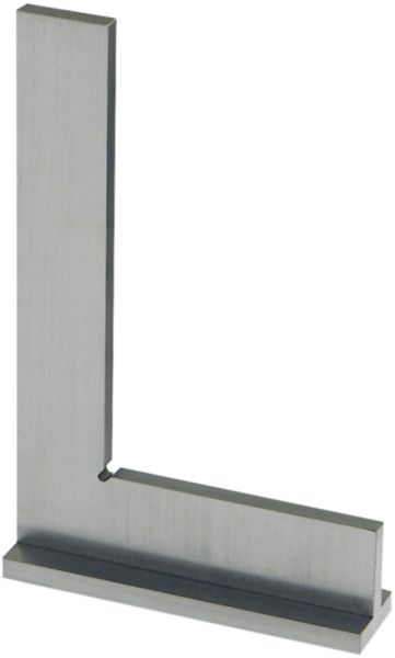 ATORN try square stainless 500 x 330 mm in line with DIN 875 precision 1