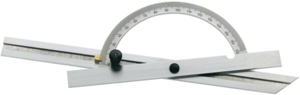 ATORN protractor with double blade 150 x 300 mm