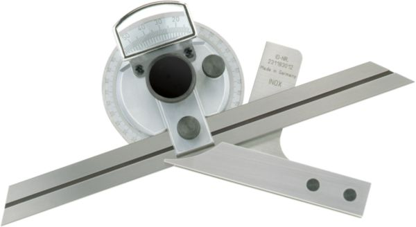 ATORN parallax-free goniometer, blade length 300 mm
